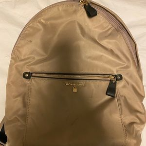 Michael kors truffle Kelsey nylon backpack